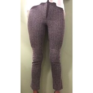 Ankle Length Herringbone Stretch Pants